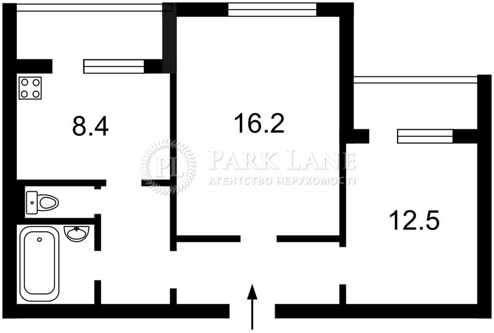 Квартира Бажана Николая просп., 28а, Киев, N-22957 - Фото 2