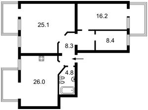 Квартира I-32879, Науки просп., 76, Киев - Фото 2