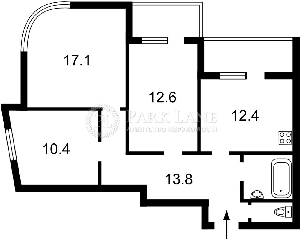 Квартира B-102499, Каховская (Никольская Слободка), 58, Киев - Фото 4