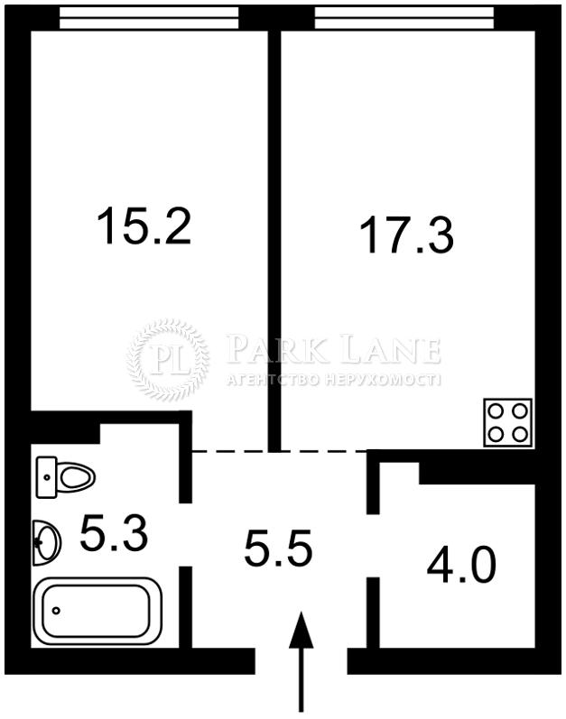 Квартира I-32910, Причальная, 5 корпус 1, Киев - Фото 3