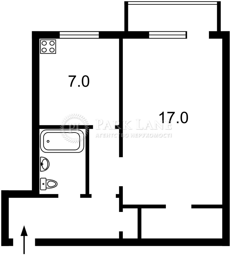 Квартира Гавела Вацлава бульв. (Лепсе Ивана), 57/38, Киев, Z-695878 - Фото 2