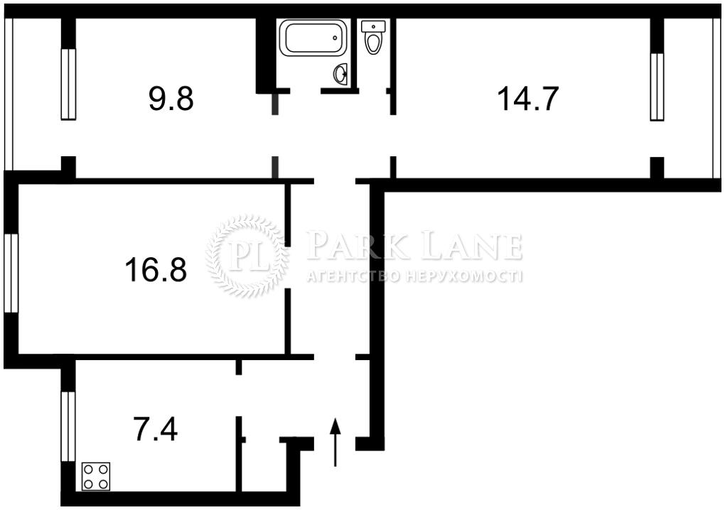 Квартира I-32946, Оболонский просп., 36, Киев - Фото 4