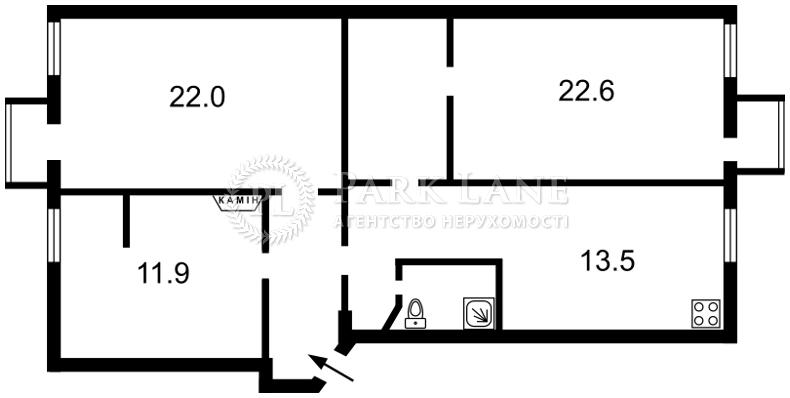 Квартира ул. Межигорская, 10, Киев, K-31963 - Фото 2
