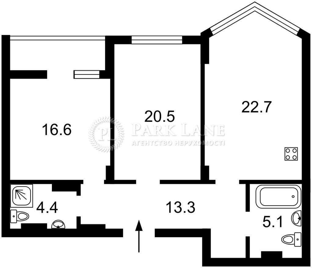 Квартира Z-778907, Вышгородская, 45, Киев - Фото 5