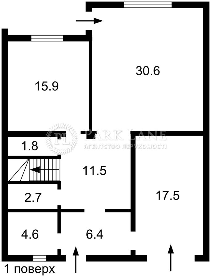 Дом B-102566, Новая, Козин (Конча-Заспа) - Фото 3