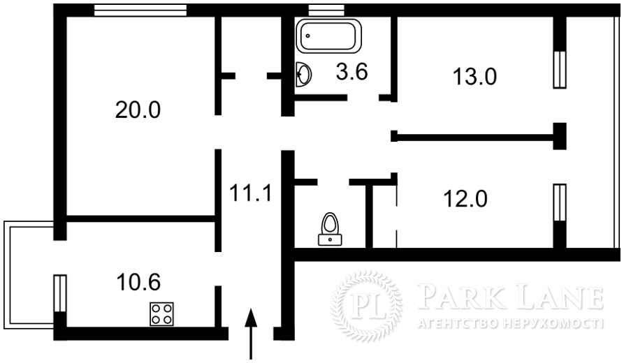 Квартира Z-776711, Окипной Раиcы, 5а, Киев - Фото 3