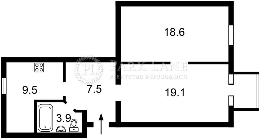 Квартира ул. Хорива, 43, Киев, B-102593 - Фото 2