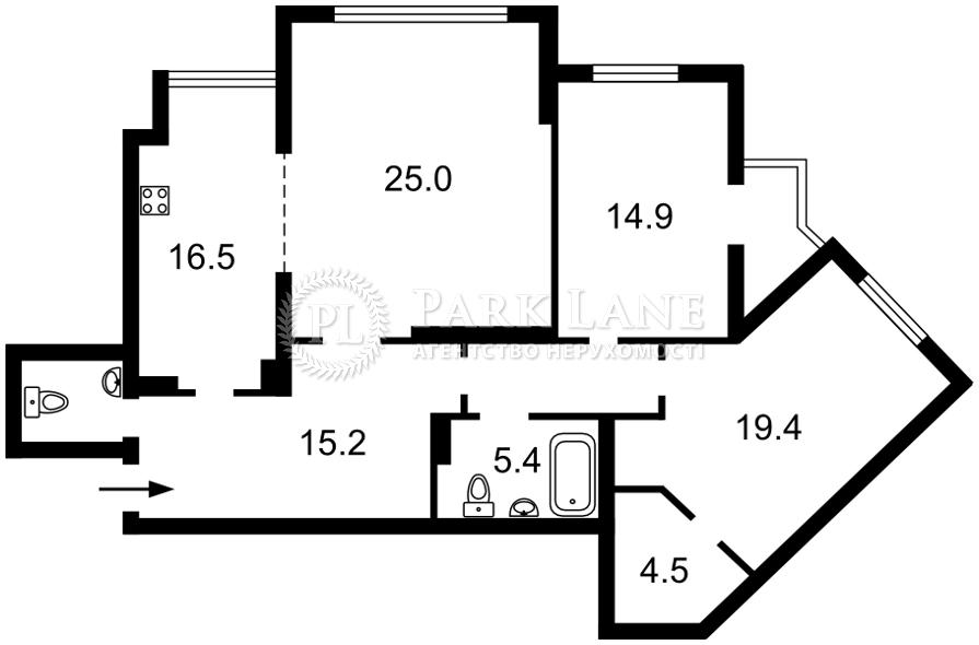 Квартира R-39119, Княжий Затон, 21, Киев - Фото 6