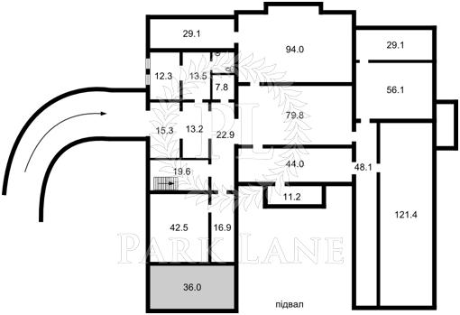 Земельный участок, R-31707