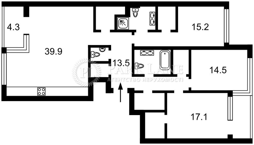 Квартира ул. Предславинская, 57, Киев, L-28597 - Фото 2