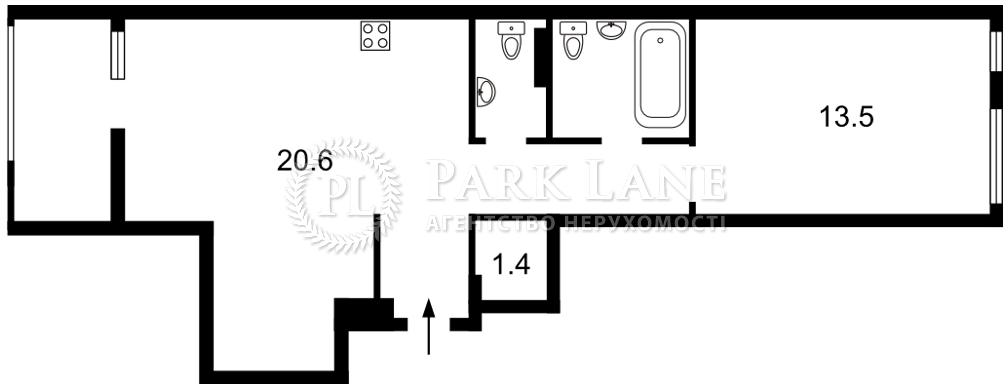 Квартира ул. Регенераторная, 4 корпус 15, Киев, J-30900 - Фото 2