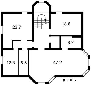 Дом Z-771741, Соловьяненко, Козин (Конча-Заспа) - Фото 1