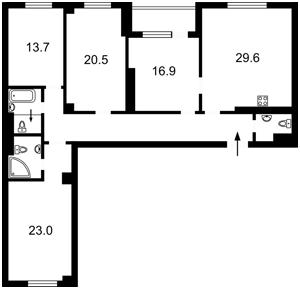 Квартира K-32100, Днепровская наб., 26и, Киев - Фото 4