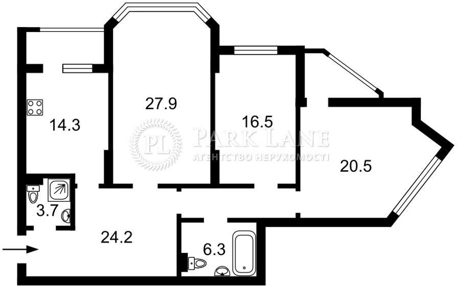 Квартира R-39276, Чавдар Елизаветы, 13, Киев - Фото 6