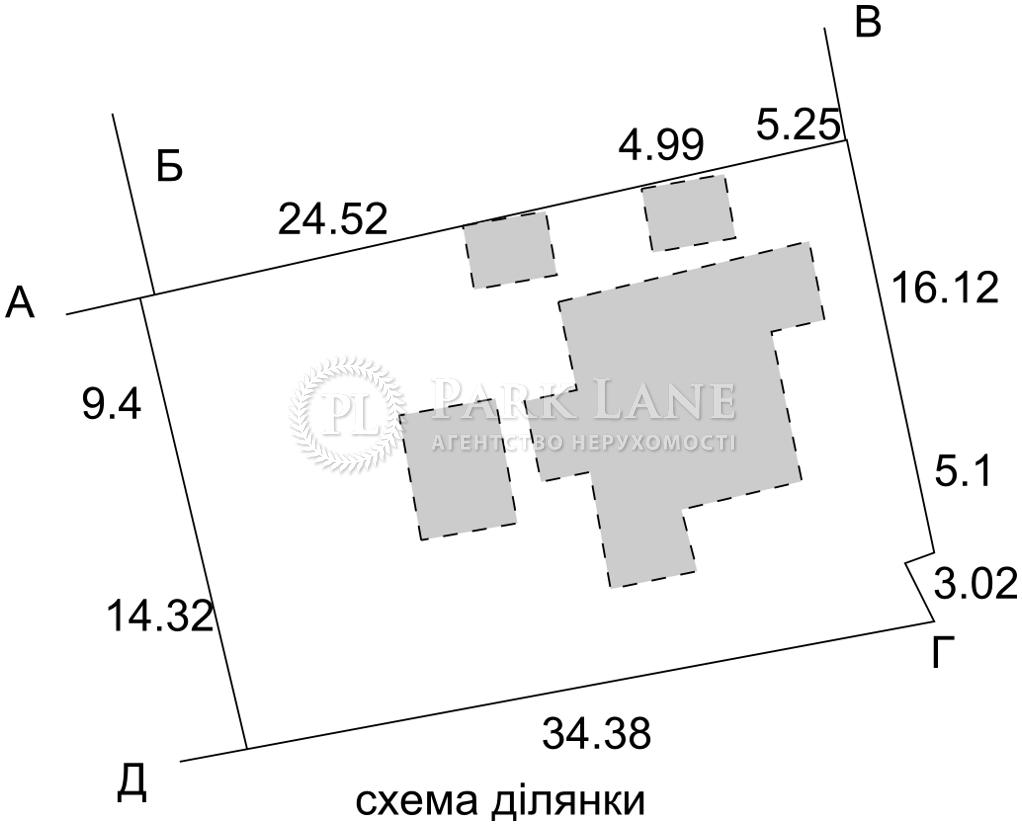 Земельный участок Таврийский пер., Киев, R-18264 - Фото 1