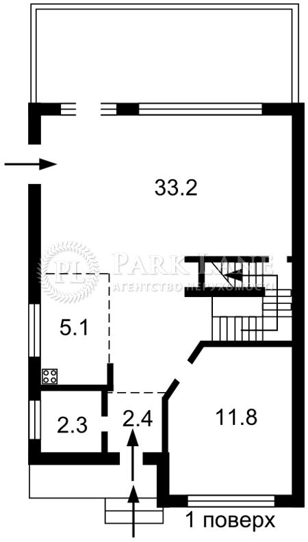 Дом I-33074, Киевская, Ясногородка (Макаровский) - Фото 3