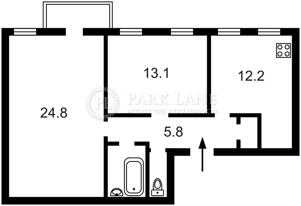 Квартира ул. Саксаганского, 36, Киев, L-28624 - Фото 2