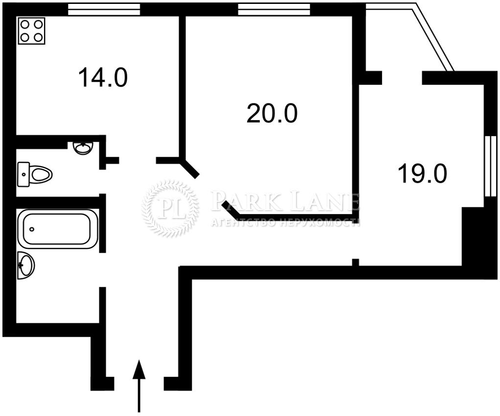 Квартира ул. Липкивского Василия (Урицкого), 37в, Киев, B-102575 - Фото 2