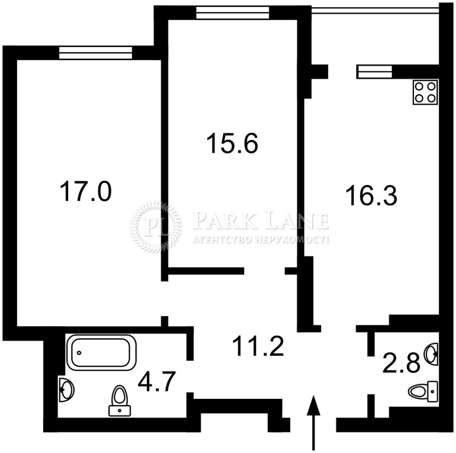 Квартира Гавела Вацлава бульв. (Лепсе Ивана), 9а, Киев, R-39548 - Фото 2