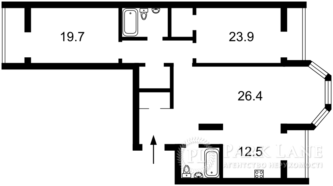 Квартира ул. Коновальца Евгения (Щорса), 34а, Киев, B-102721 - Фото 2