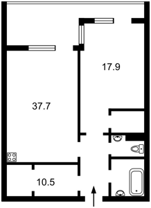 Квартира B-102720, Спасская, 35, Киев - Фото 8