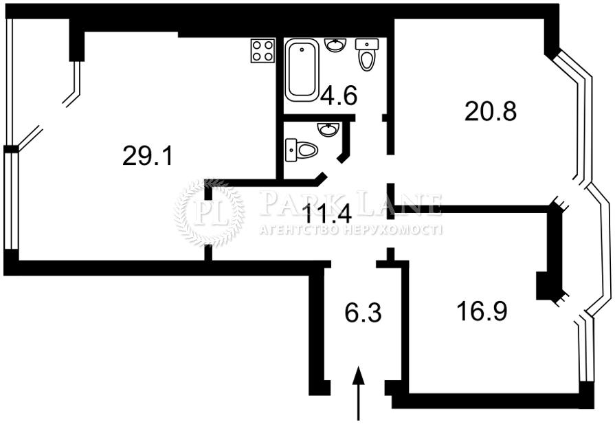 Квартира ул. Владимирская, 49а, Киев, J-31196 - Фото 2