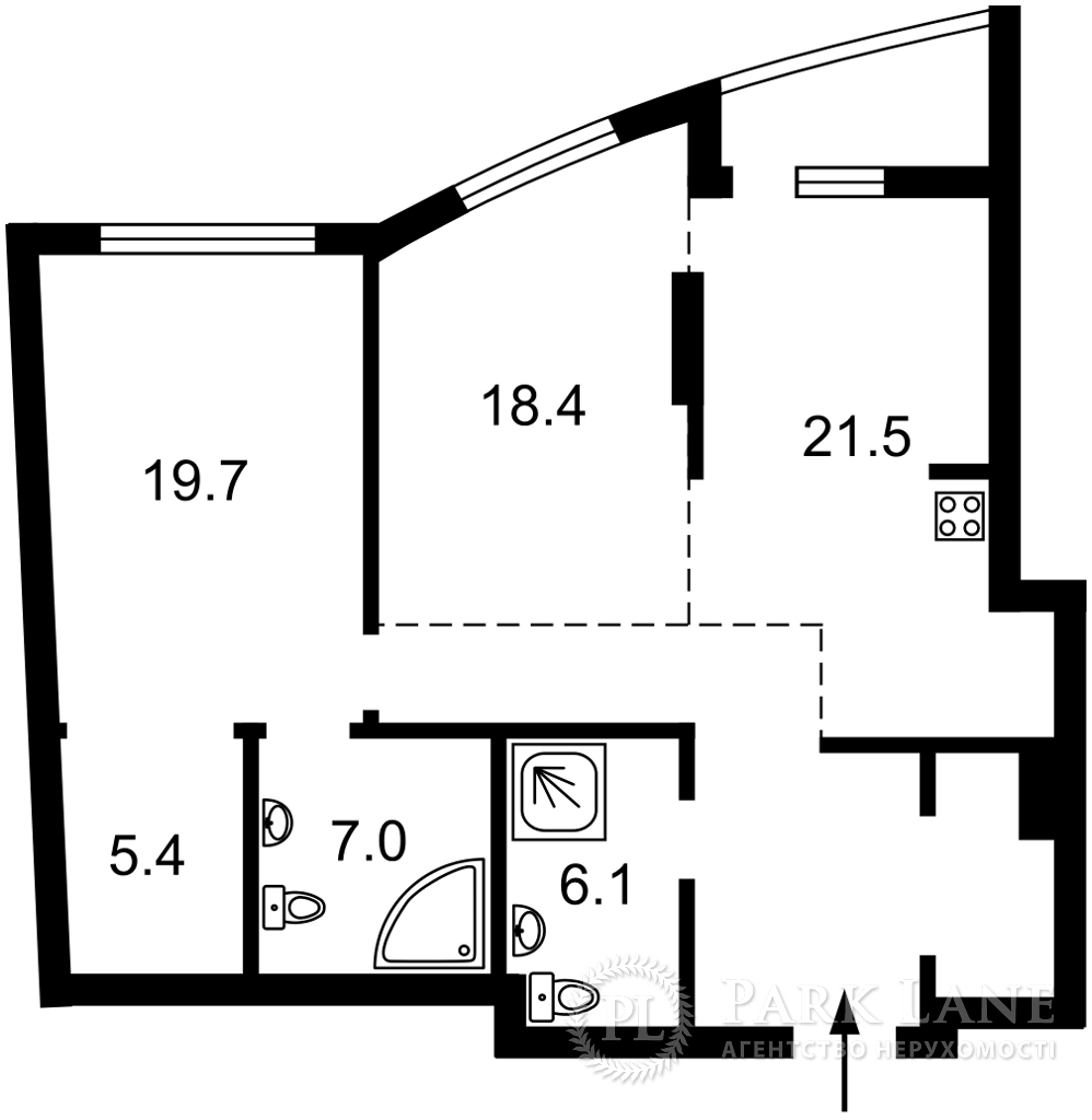 Квартира K-32214, Голосеевский проспект (40-летия Октября просп.), 60, Киев - Фото 7
