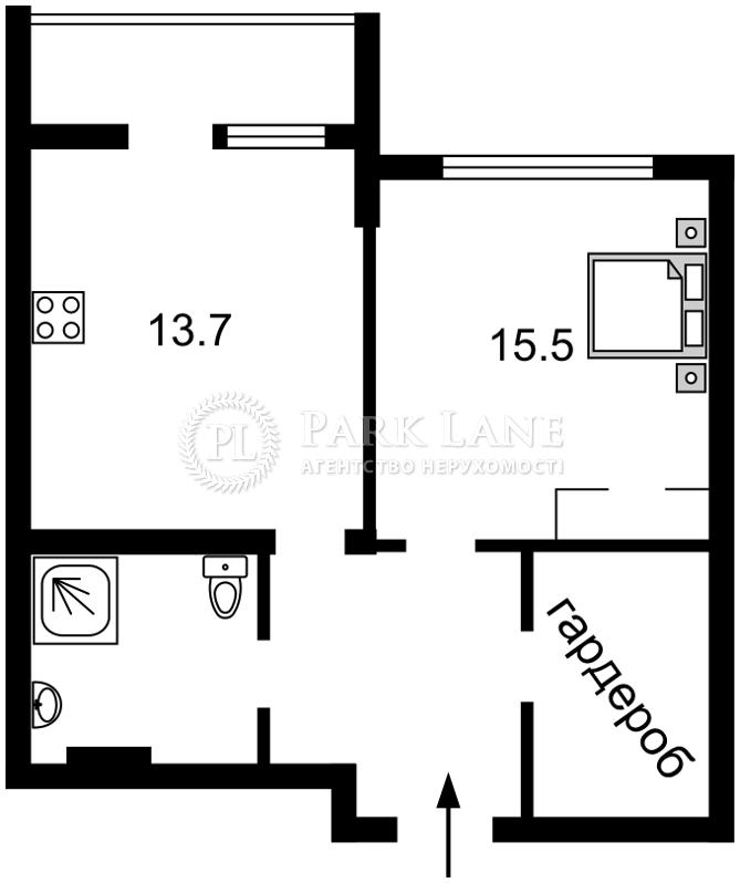 Квартира ул. Бойчука Михаила (Киквидзе), 41-43, Киев, R-38881 - Фото 2