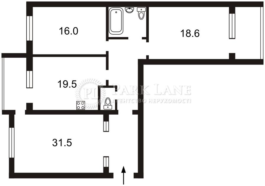 Квартира Героев Сталинграда просп., 4 корпус 3, Киев, Z-589314 - Фото 2