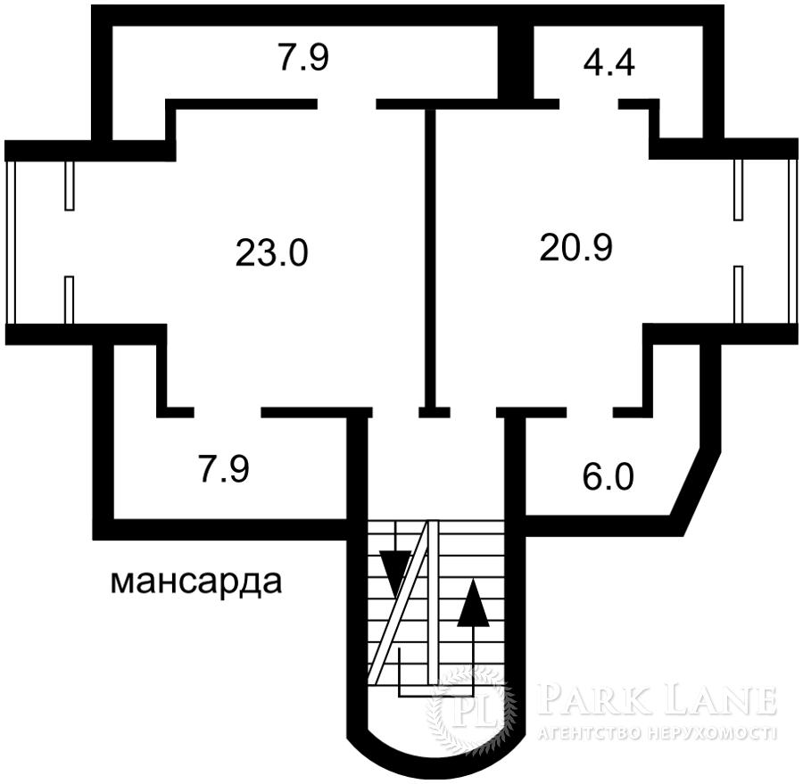 Дом N-23060, Полевая, Софиевская Борщаговка - Фото 6