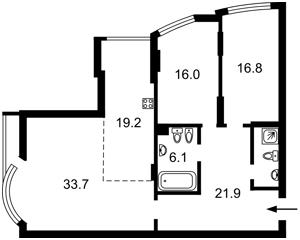 Квартира I-33219, Тютюнника Василия (Барбюса Анри), 37/1, Киев - Фото 6