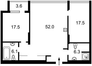 Квартира Z-791529, Коновальца Евгения (Щорса), 44а, Киев - Фото 6