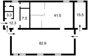 Коммерческая недвижимость, R-39760, Гавела Вацлава бульв. (Лепсе Ивана), Соломенский район