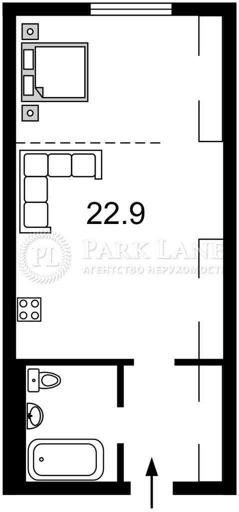 Квартира ул. Максимовича Михаила (Трутенко Онуфрия), 24б, Киев, Z-789117 - Фото 2