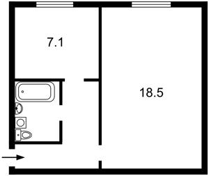 Квартира N-23085, Сечевых Стрельцов (Артема), 59-65, Киев - Фото 3