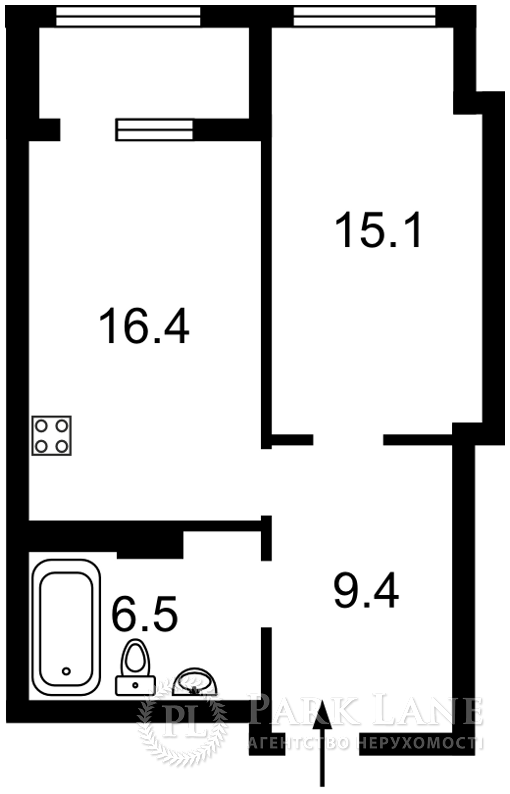 Квартира ул. Антоновича (Горького), 109, Киев, R-39745 - Фото 2