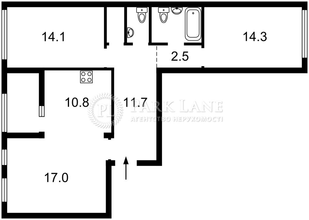 Квартира J-31292, Рыльского Тадея, 1, Киев - Фото 3