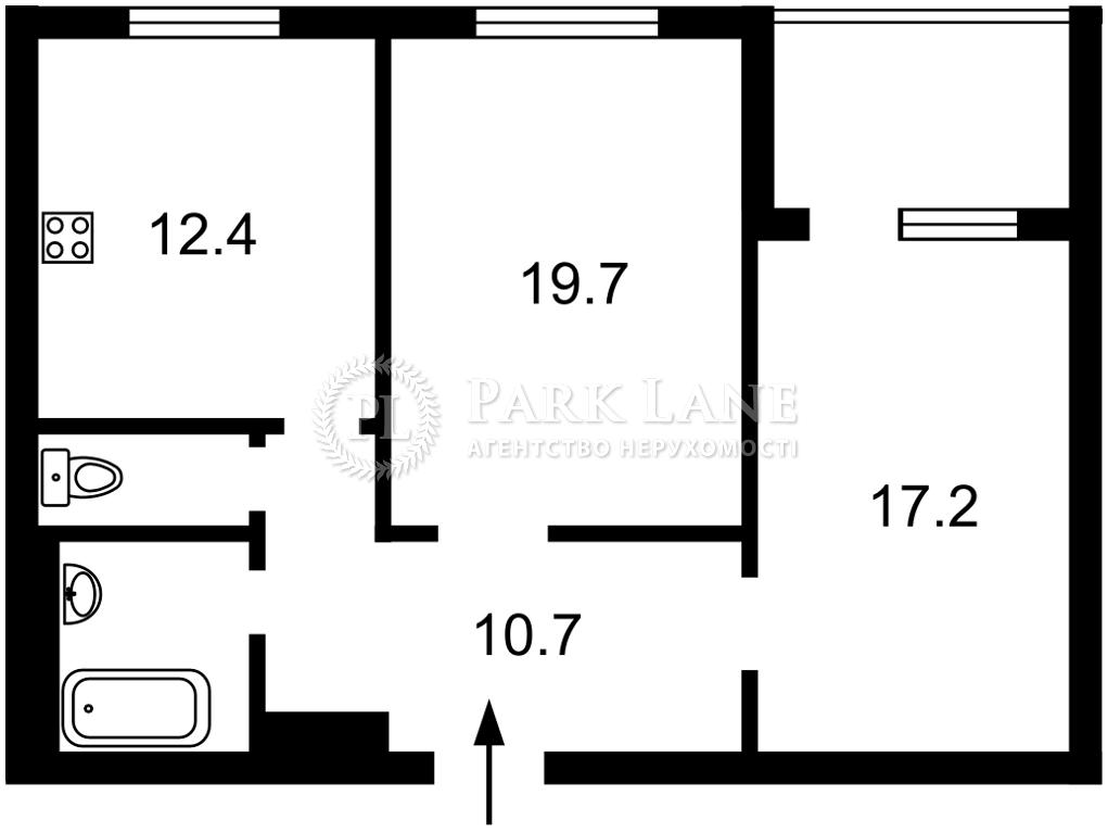 Квартира Курбаса Леся (50-летия Октября) просп., 1 корпус 1, Киев, I-33240 - Фото 2