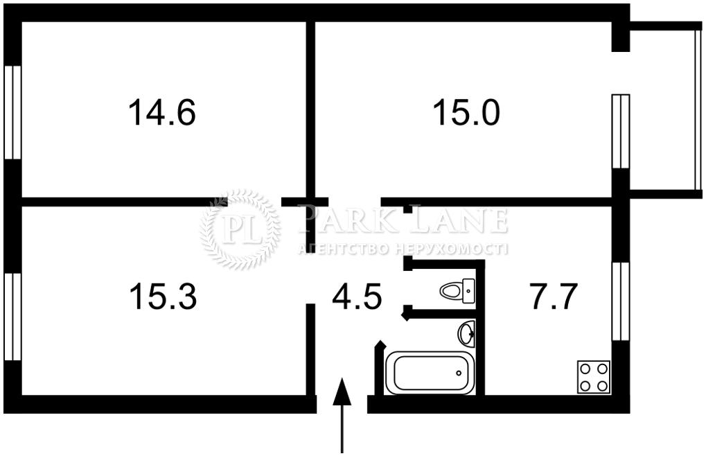 Квартира вул. Гречка Маршала, 20, Київ, B-102802 - Фото 2