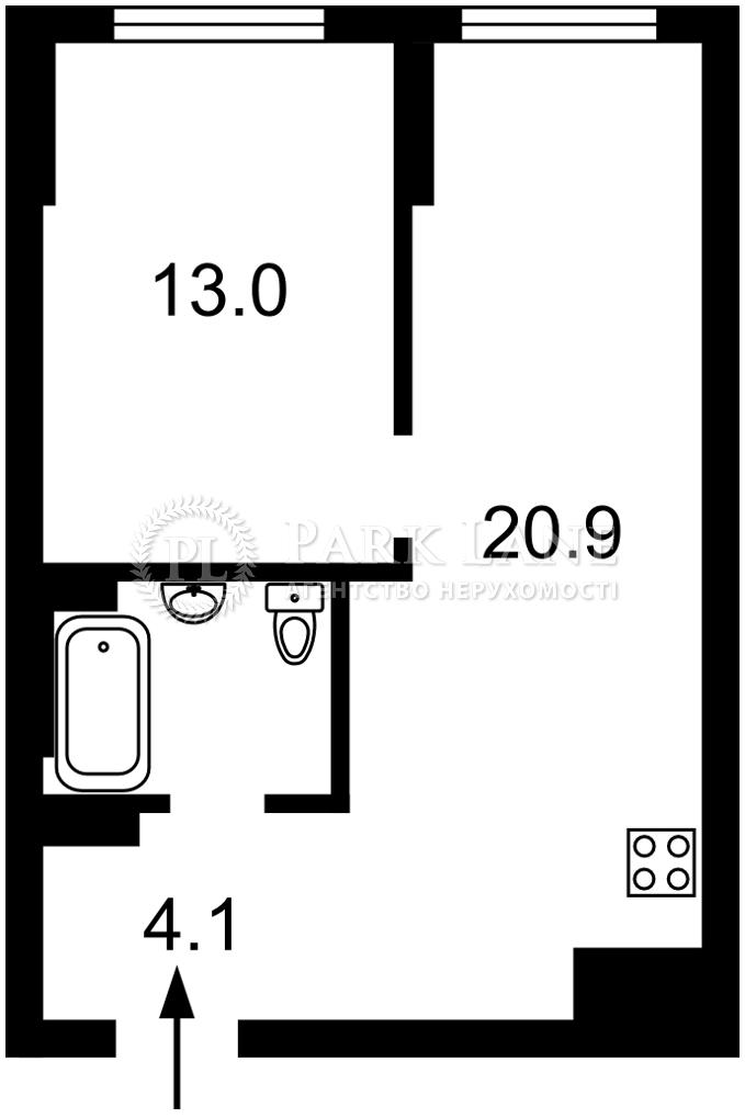 Квартира ул. Заболотного Академика, 15б, Киев, Z-711122 - Фото 2