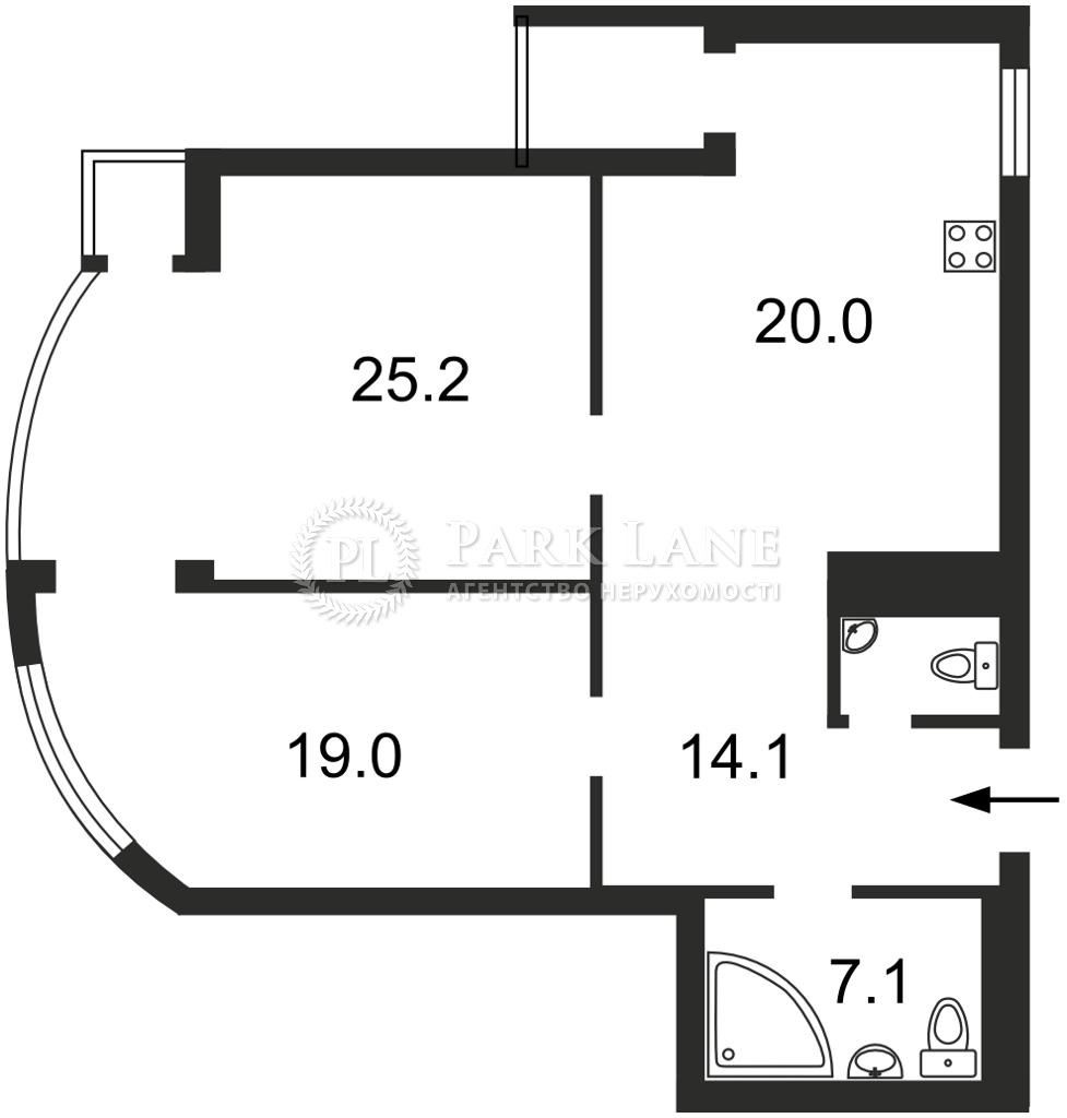 Квартира вул. Механізаторів, 2, Київ, B-102805 - Фото 2
