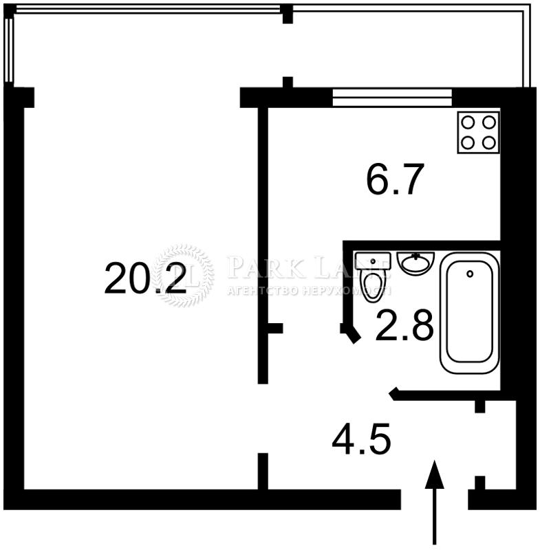 Квартира ул. Иорданская (Гавро Лайоша), 2а, Киев, Z-335171 - Фото 2