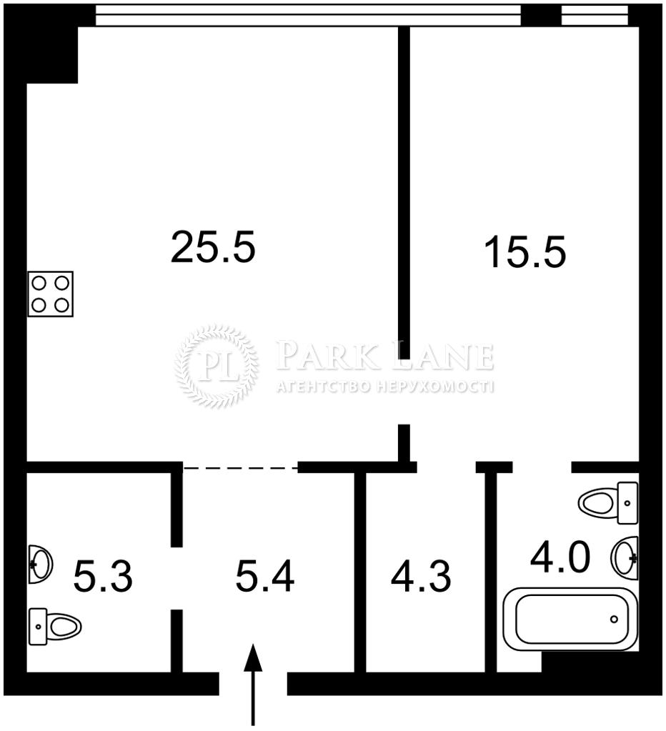 Квартира ул. Демеевская, 33, Киев, L-28648 - Фото 2