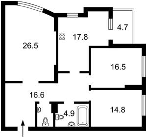 Квартира N-23112, Лобановского просп. (Краснозвездный просп.), 150г, Киев - Фото 5