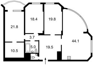 Квартира Z-780483, Тимошенко Маршала, 21 корпус 3, Киев - Фото 5