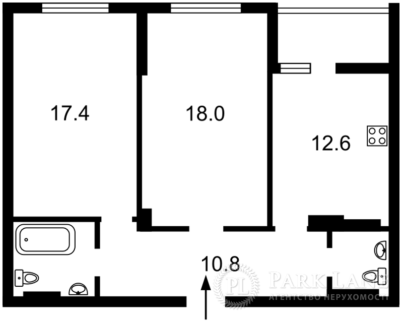 Квартира J-31320, Голосеевский проспект (40-летия Октября просп.), 74, Киев - Фото 3