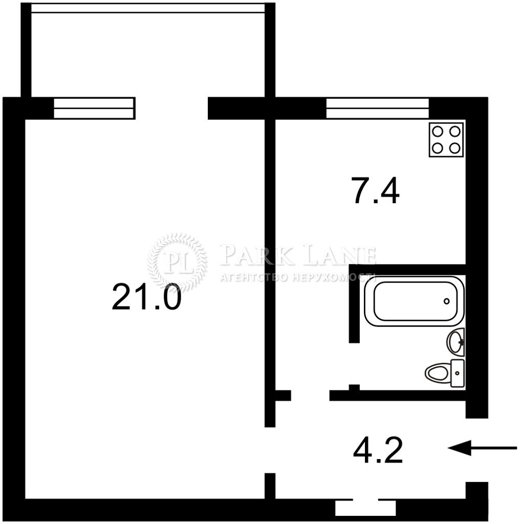Квартира ул. Антоновича (Горького), 47, Киев, Z-795397 - Фото 2