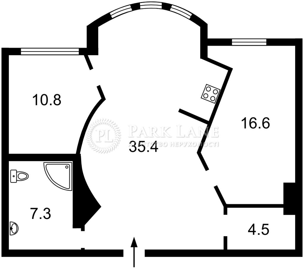Квартира I-33289, Саперно-Слободская, 8, Киев - Фото 5