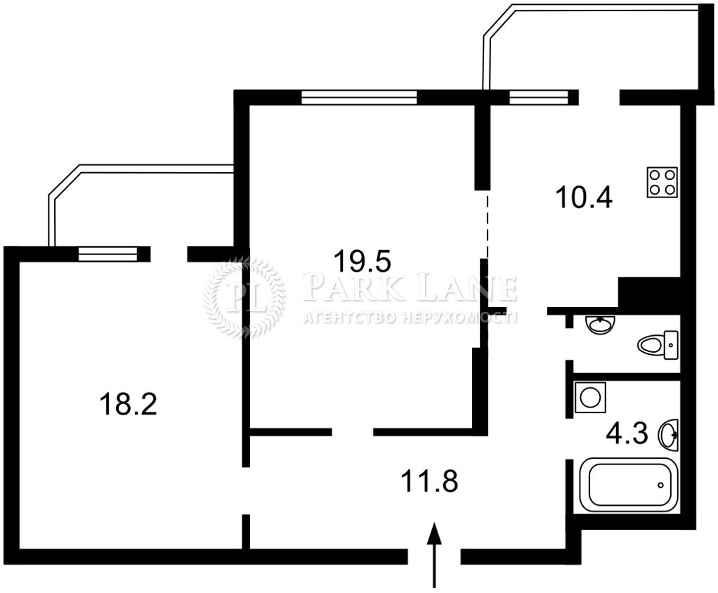 Квартира Победы просп., 71а, Киев, Z-375509 - Фото 2