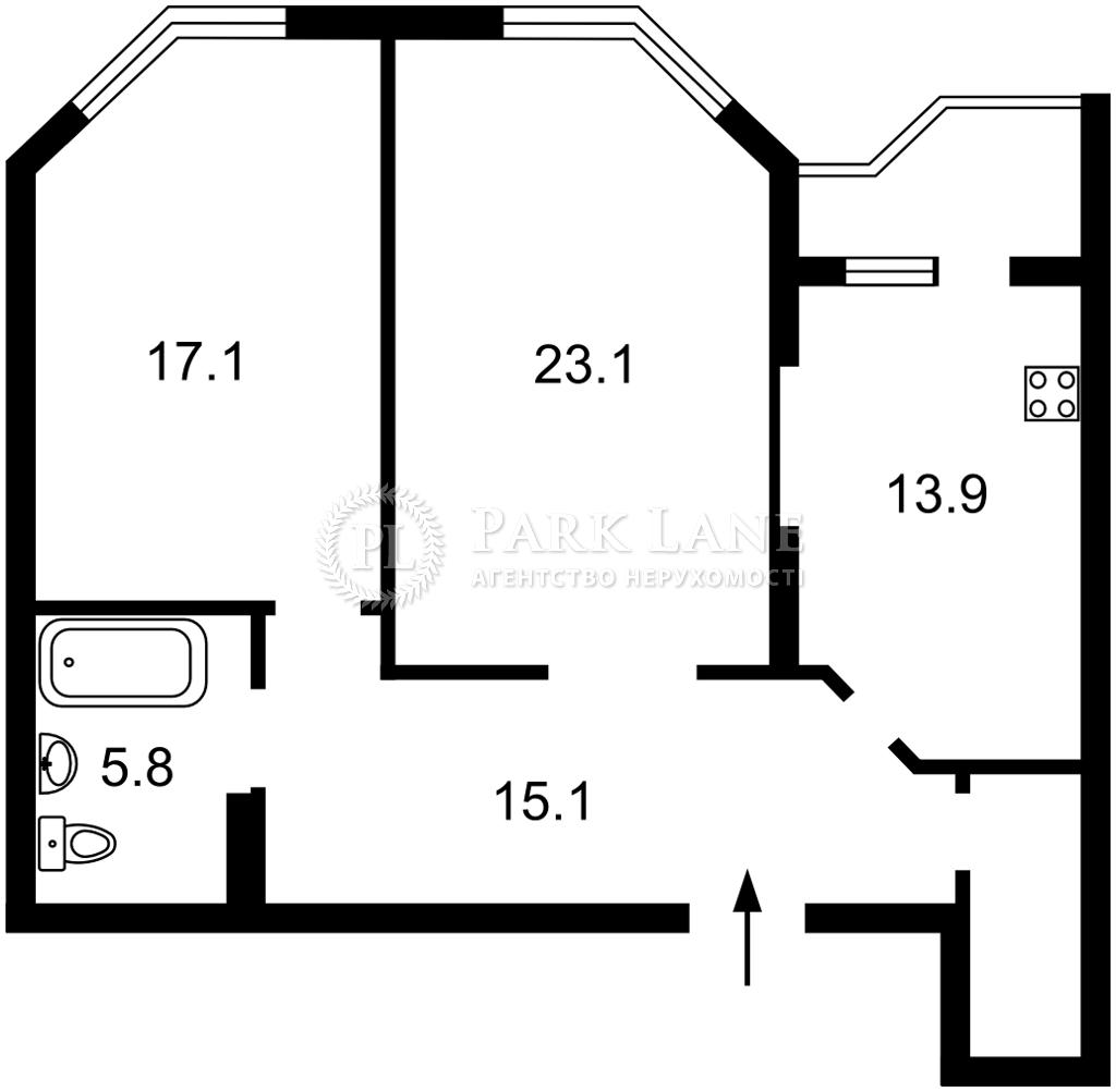 Квартира ул. Коперника, 12д, Киев, J-31337 - Фото 2